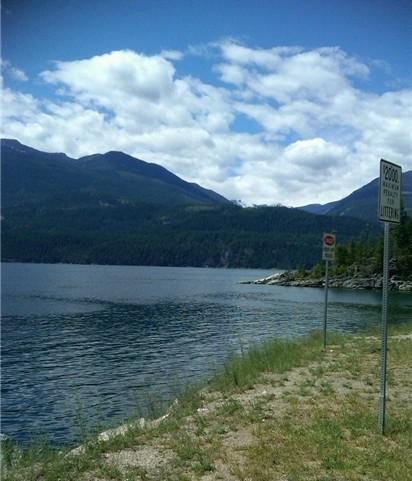 A beautiful day at Lake Kootenay.